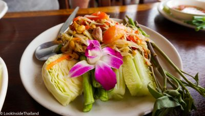 Som Tam ( papaya salad)